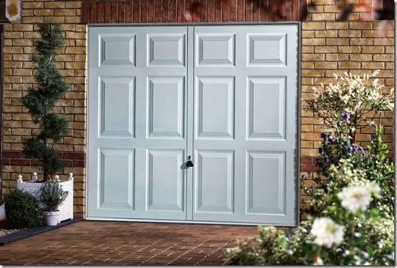 Garador PVC Chatsworth garage door