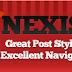 Nexis Blogger Template - A free premium Blogger template