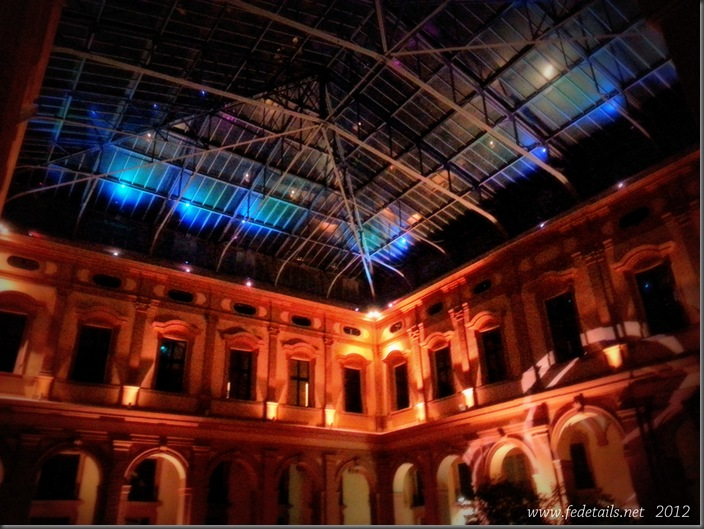 Palazzo Ex Borsa ( luci notturne 1 ), Ferrara, Emilia Romagna, Italia - Ex Borsa Palace ( night lights  1 ), Ferrara, Emilia Romagna, Italy - Property and all Copyrights of www.fedetails.net