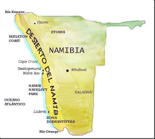 Namib Map