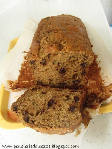 Zucchini Chocolate Bread 1