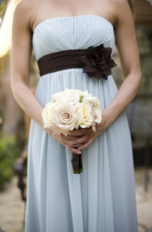 Alysha bouquet and dress detail heavenly blooms