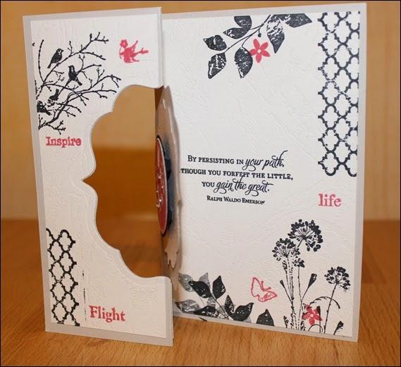 Geburtstagskarte 40. Geburtstag   Lesezeichen edel elegant 02
