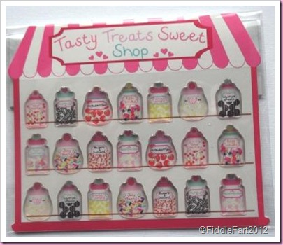 Accessorize Tasty Treets Sweet Shop Stickers