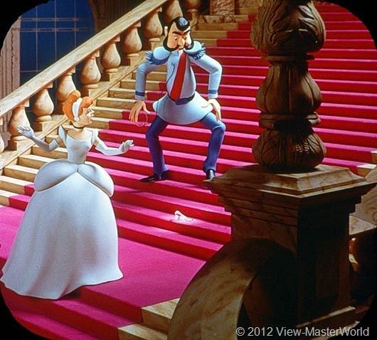 View-Master Walt Disneys Cinderella (B318), Scene 13