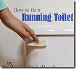 how to fix a running toiletsm