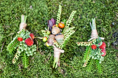 acorn and botanical boutonnieres tyra-bleek-boston-wedding-photography