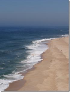 La plage côté nord, bien plus sauvage