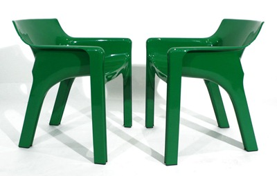 Gaudi armchair, green