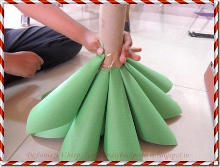 Paper Christmas tree 11