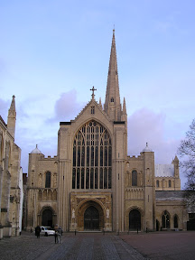 cathedral and blue sky.JPG
