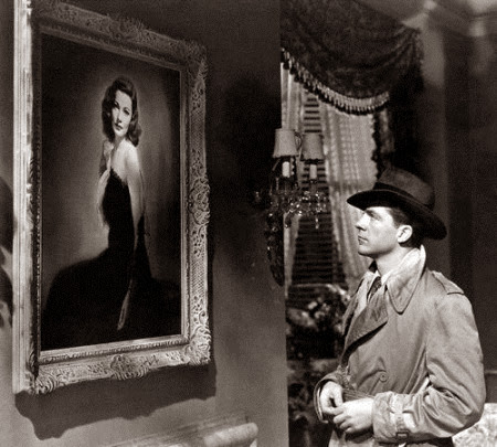 Dana Andrews in Laura 1944