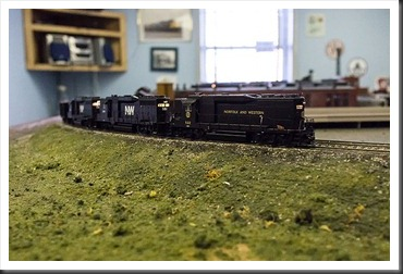 Hagerstown Roundhouse - model trains