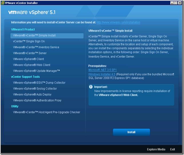 00 VMware vCenter Installer