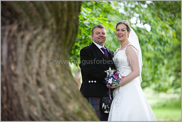 married couple near edinburgh