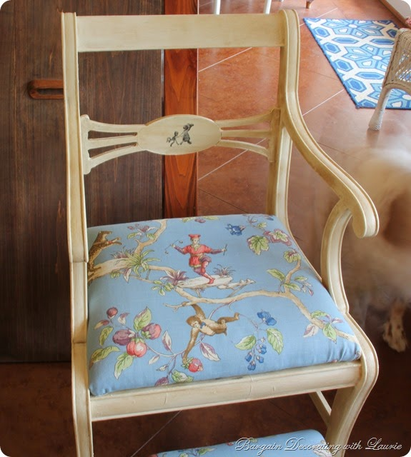 AS Old White Painted Chair 2
