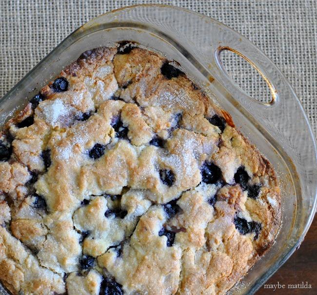 Blueberry Orange Buttermilk Breakfast Cake // www.maybematilda.com