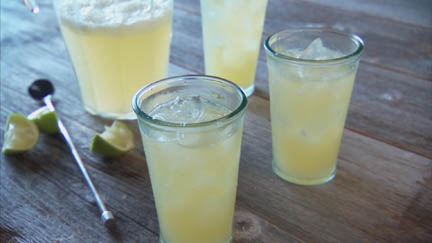 For Those Who Don't Booze: Lime Squash Drink