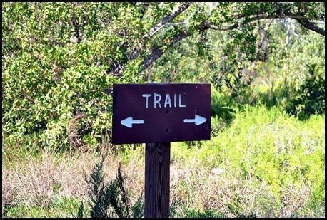 04m - Bay Shore Loop Trail - Coastal Prairie Trail Sign