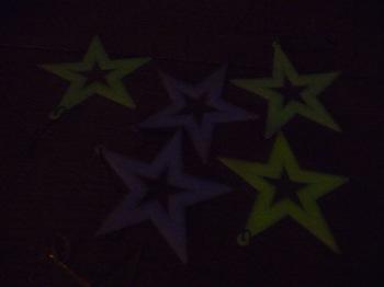 011 självlysande plaststjärnor Daniel Grankvist