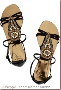 Guiseppe Zanotti leather sandals