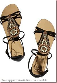 Guiseppe Zanotti leather sandals