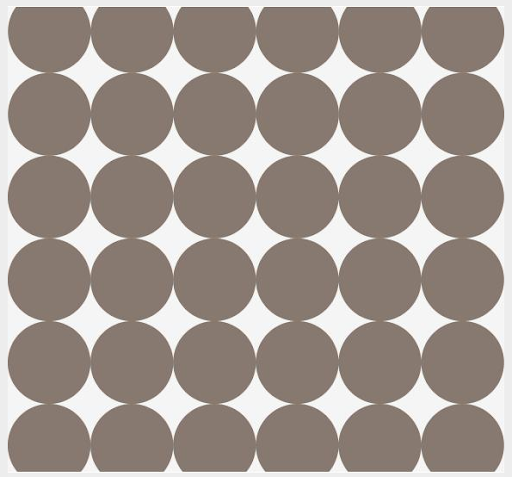 This dot pattern also comes in a neutral taupe color. (dwellstudio.com)