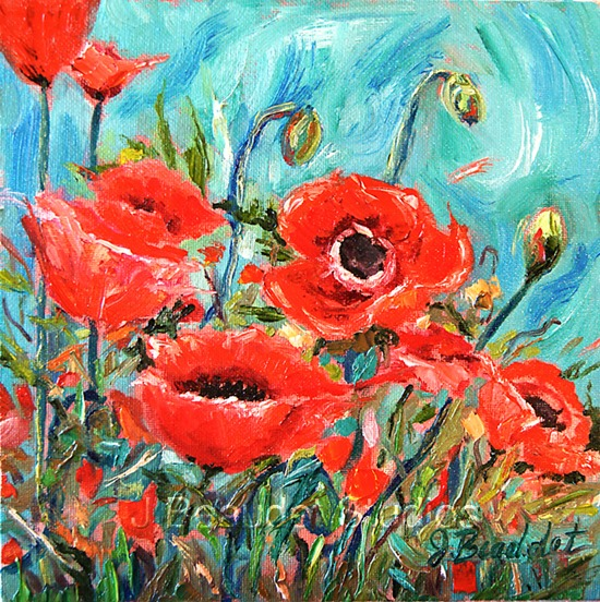 Poppies Jennifer Beaudet