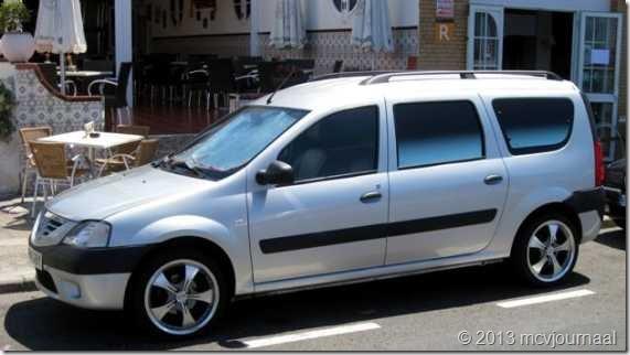 Dacia Logan MCV op Gran Canaria 02