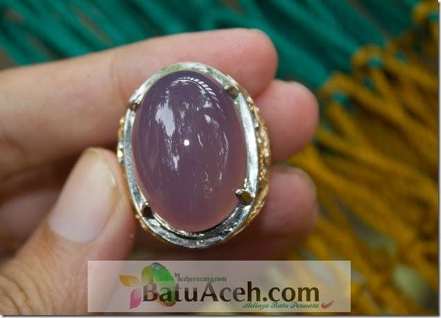 cincin batu lavender
