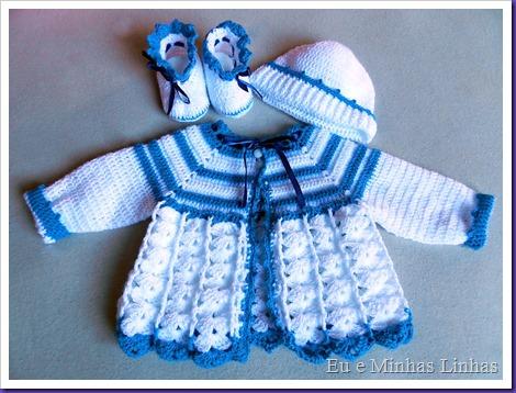 Conjunto Crochê Bebê 2