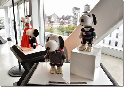 Peanuts X Metlife - Snoopy and Belle in Fashion Exhibition Presentation (Source - Slaven Vlasic - Getty Images North America) 07