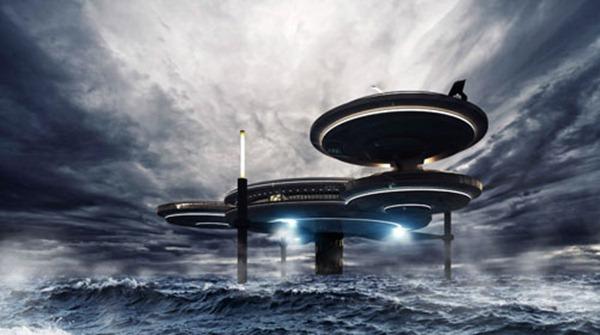 فندق تحت الماء في الامارات