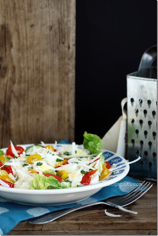 sałata rzymska i jajeczka przepiórcze (8)