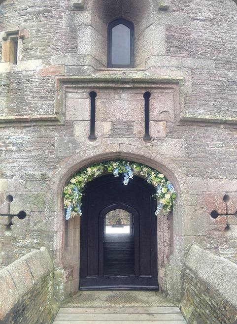 castle St Mawes Castle arch