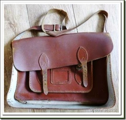 Handpainted satchel 2