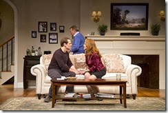 Clever Little Lies  GSP  11-17-13 169<br />CLEVER LITTLE LIES<br />by Joe DiPietro <br />directed by David Saint at George Street Playhouse  11/17/13<br />with Greg Mullavey, Jim Stanek, Marlo Thomas, Kate Wetherhead<br />Set Design: Yoshi Tanakura<br />Lighting Design: Christopher J. Bailey<br />Costume Design: Esther Arroyo<br />Original Music/Sound Design: Scott Killian<br /><br /> © T Charles Erickson<br />tcepix@comcast.net<br />http://tcharleserickson.photoshelter.com/