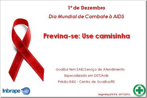 campanha dia mundial de combate a aids