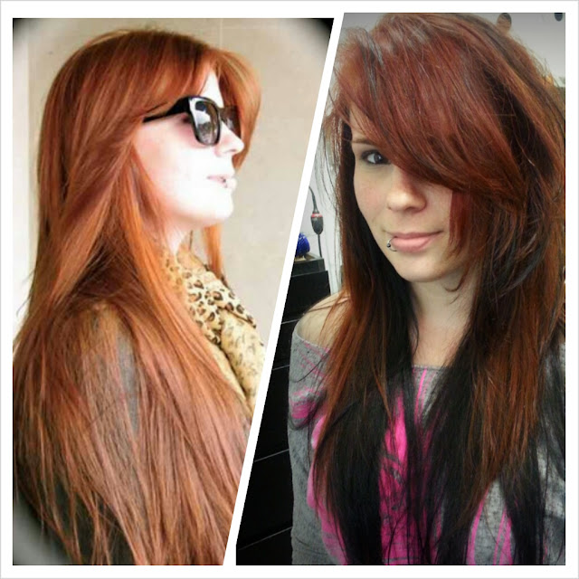 Bright Red Hair Color Two Ways Salon Talk Now By Linda Mariano