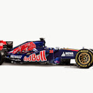 Toro Rosso STR9 F1 car launch pictures