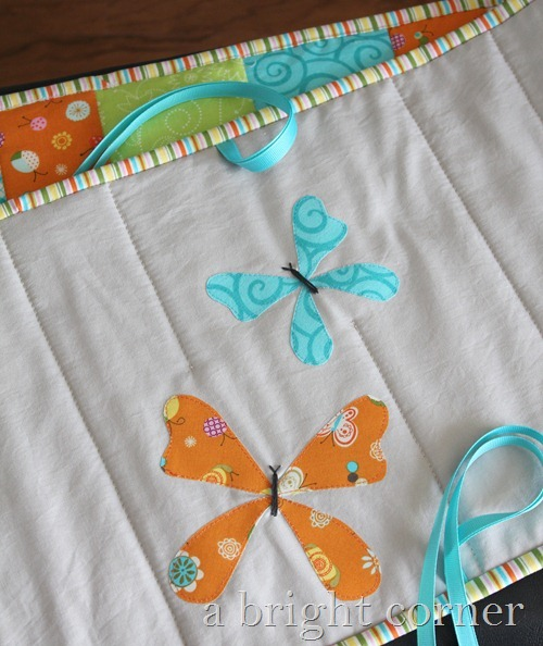 butterfly applique crib bumpers
