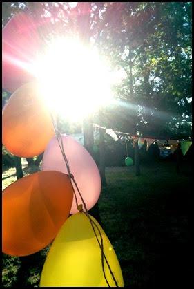 bday balloons sun