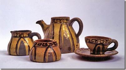 Anne Dangar Moroccan tea set