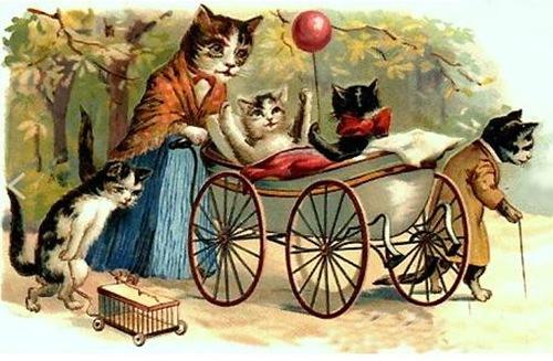 Gatti nelle favole (disegno)