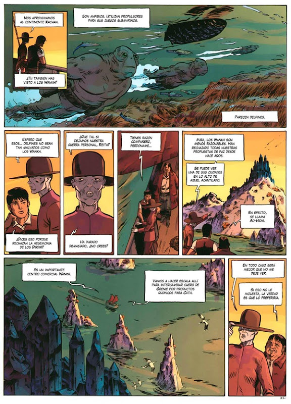 Tschai 03 Los Wankh #1 - página 33