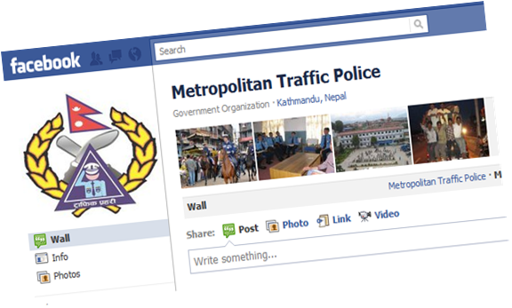 Metropolitan Traffic Police on Facebook