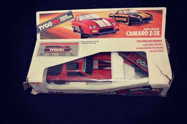 Camaro Z-28 Remote Controlled Car Top Side