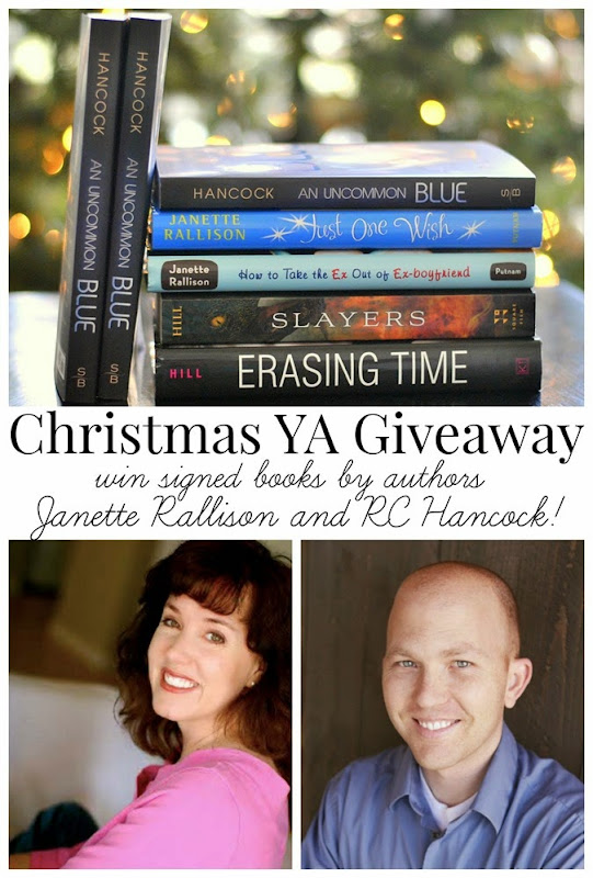 Awesome YA book giveaway, just in time for Christmas!