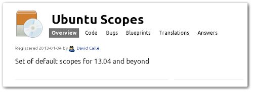 Ubuntu Scopes