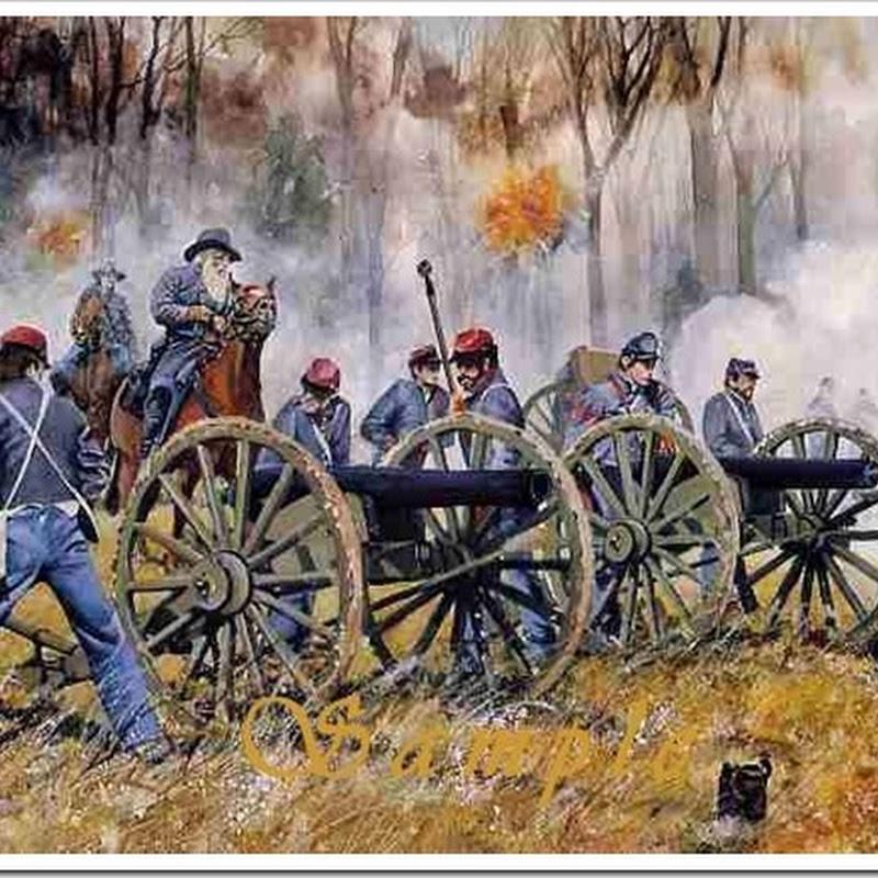 Por que soldados da Guerra Civil Americana brilhavam no escuro ?